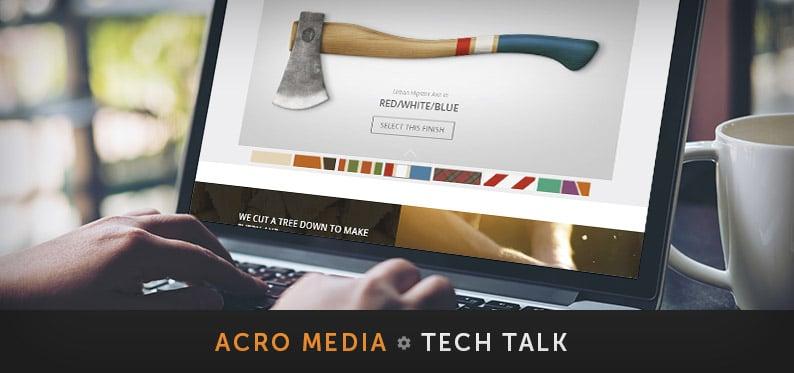 UH Axe Enhanced Product Page, A Technical Walkthrough