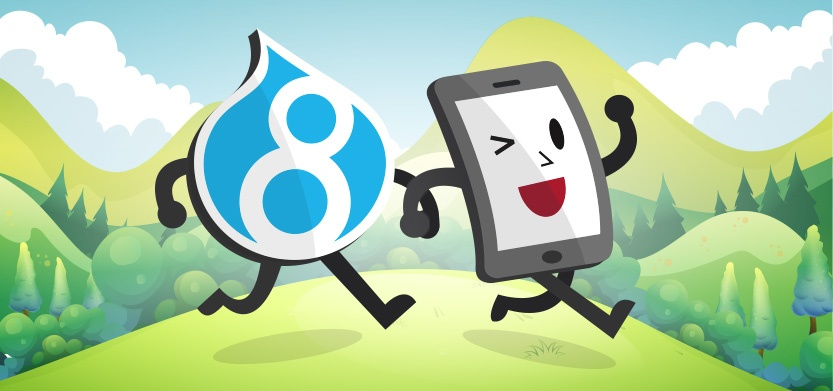 How Drupal 8 is Made for Mobile