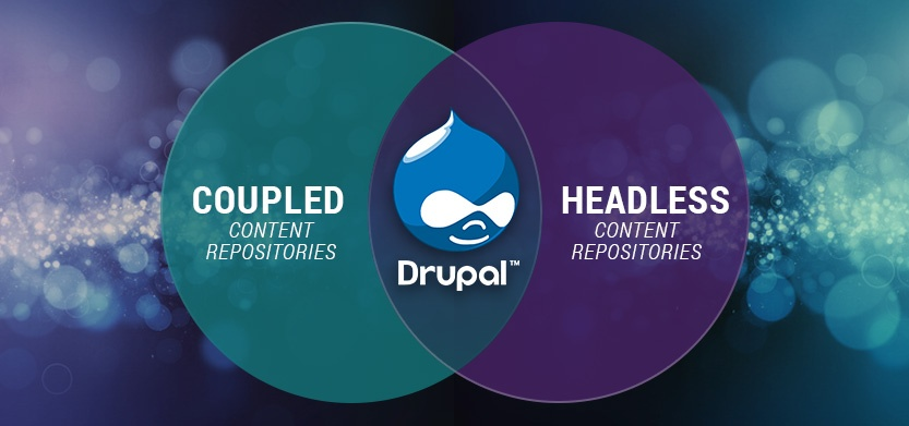 Coupled or Headless Content Repositories -- Where does Drupal fit in?