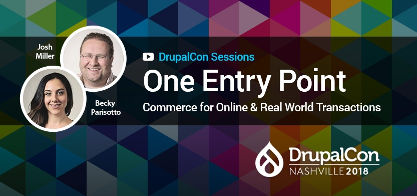 One Entry Point - Commerce for Online and Real World Transactions