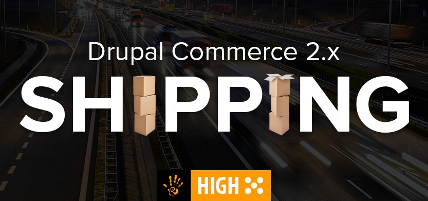 Shipping in Drupal Commerce 2.x