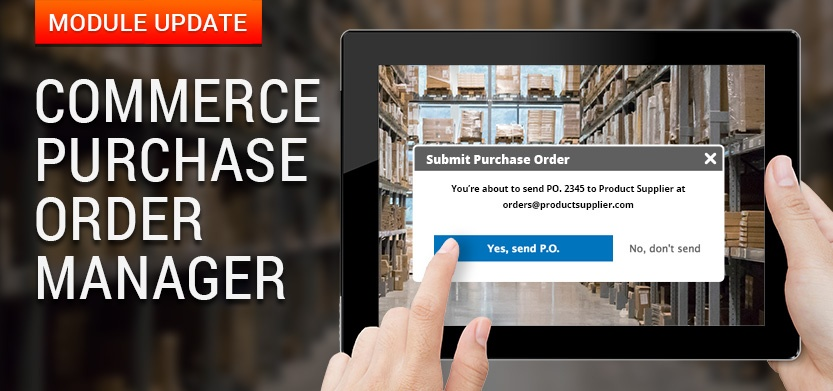 Commerce Purchase Order Manager Module