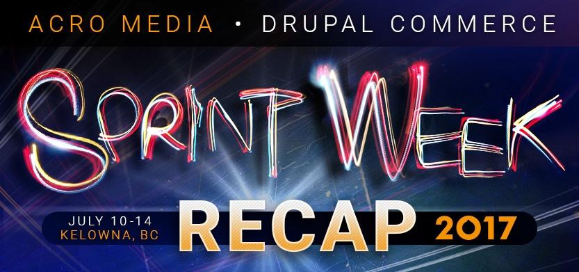 Sprint Week 2017 Recap