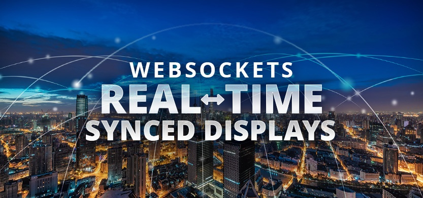 Drupal with WebSockets for Real-Time Synced Displays