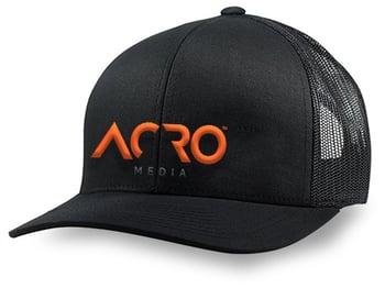 Acro Media hat
