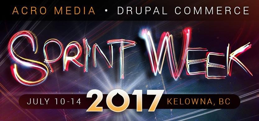 Sprint Week 2017 (July 10 - 14)!