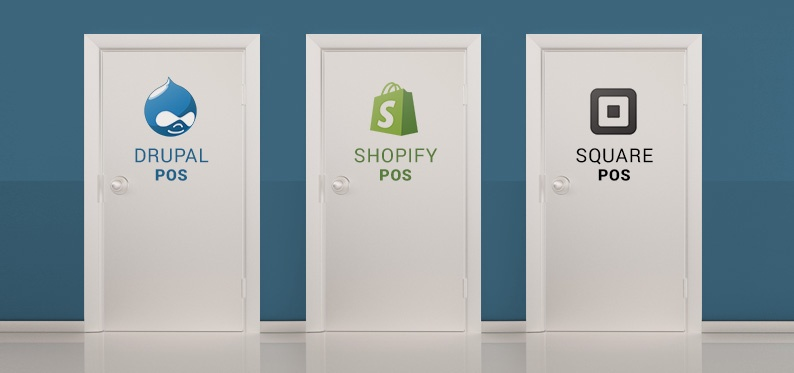 Comparing Drupal POS, Shopify POS and Square POS