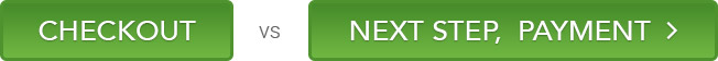 ecommerce button wording UX