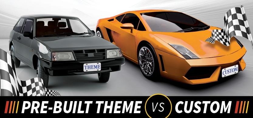 Drupal Framework: Custom vs. Pre-built Theme