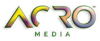 Acro Media joke logo