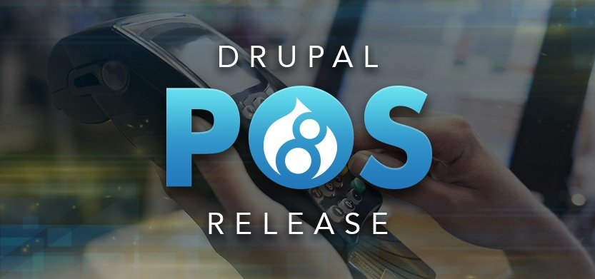 Drupal Point of Sale 8 Released!