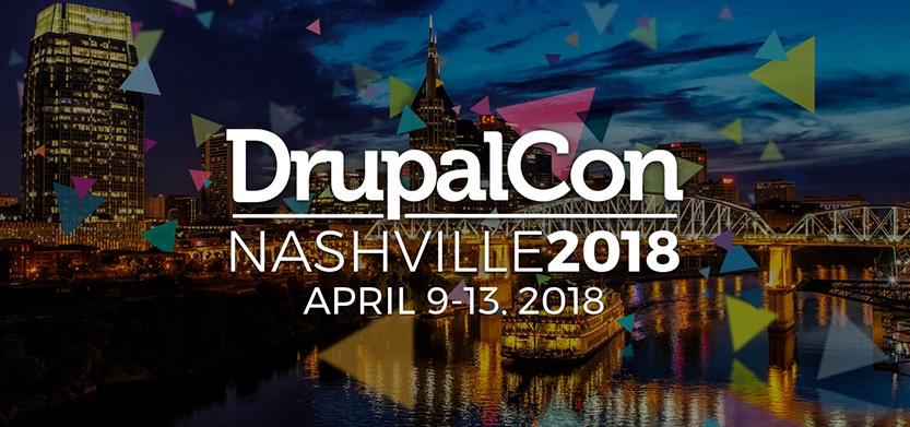 Catch up with Acro Media at DrupalCon 2018, in Nashville, TN