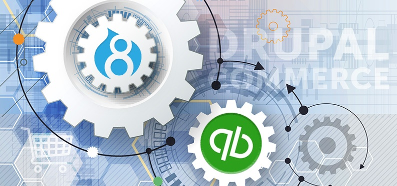 Quickbooks Enterprise Integration in Drupal Commerce 2
