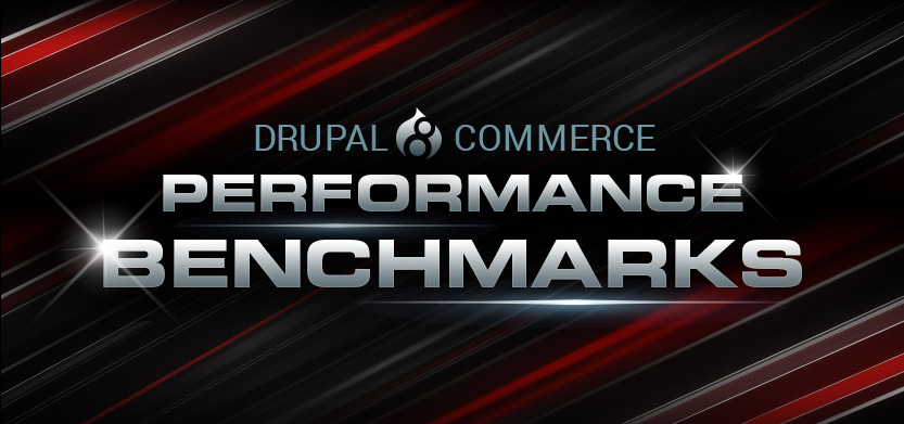 Drupal 8 Commerce Performance Benchmarks